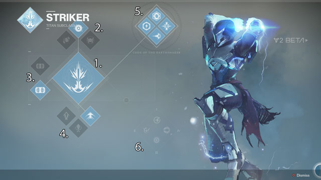 Titan Striker Subclass List of All Skills and Abilities Destiny 2