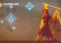 Warlock Dawnblade Subclass Abilities and Skills Showdown Destiny 2