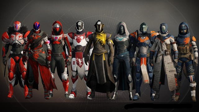 destiny 2 beta armor sets