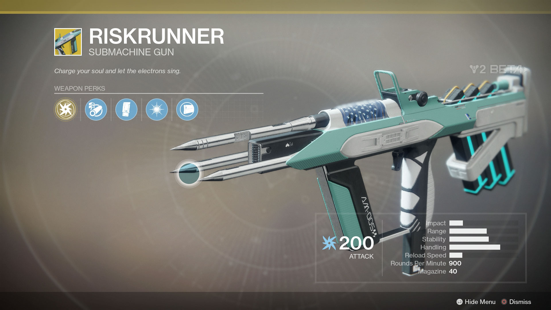 Destiny 2 Riskrunner Exotic Submachine Gun Location