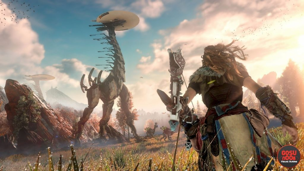 horizon zero dawn shard farming