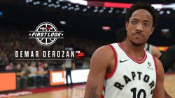 Demar Derozan first look NBA 2K18 screenshot