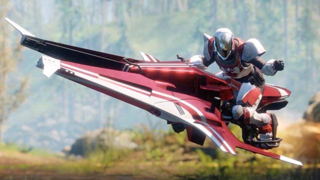 Destiny 2 Athena Victorious Exclusive Sparrow Virgin Fibre Promo Leaked