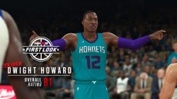 Dwight Howard Hornets First Look NBA 2K18