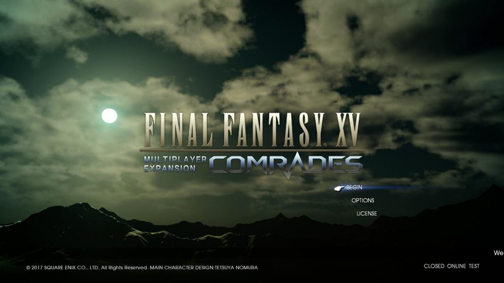 Final Fantasy XV Comrades To Have Another Test This Weekend