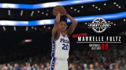 First Look Screenshot of Markelle Fultz in NBA 2K18