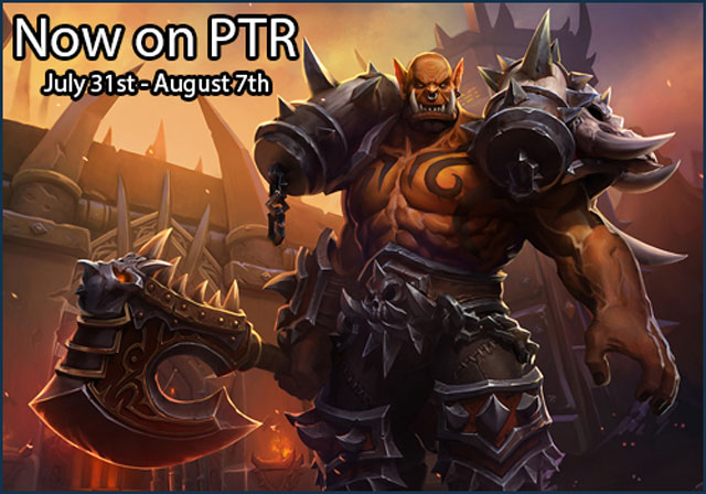 HOTS July 31st PTR Update Lets You Test Garrosh