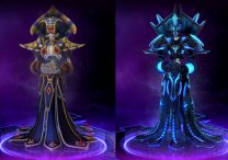 HOTS New Hero Kel'Thuzad Skins Preview of Primary and Heroic Abilities and Trait