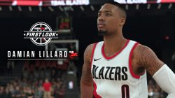 NBA 2K18 Damian Lillard first look screenshot