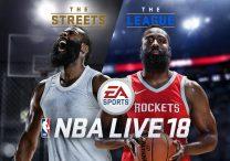 NBA Live 18 Controls List