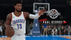 Paul George Oklahoma Thunder NBA 2K18 Screenshot
