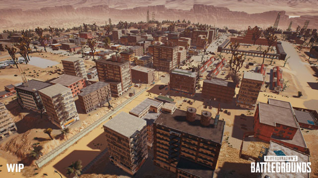PlayerUnknown's Battleground Desert Map New Screenshot Shows Town