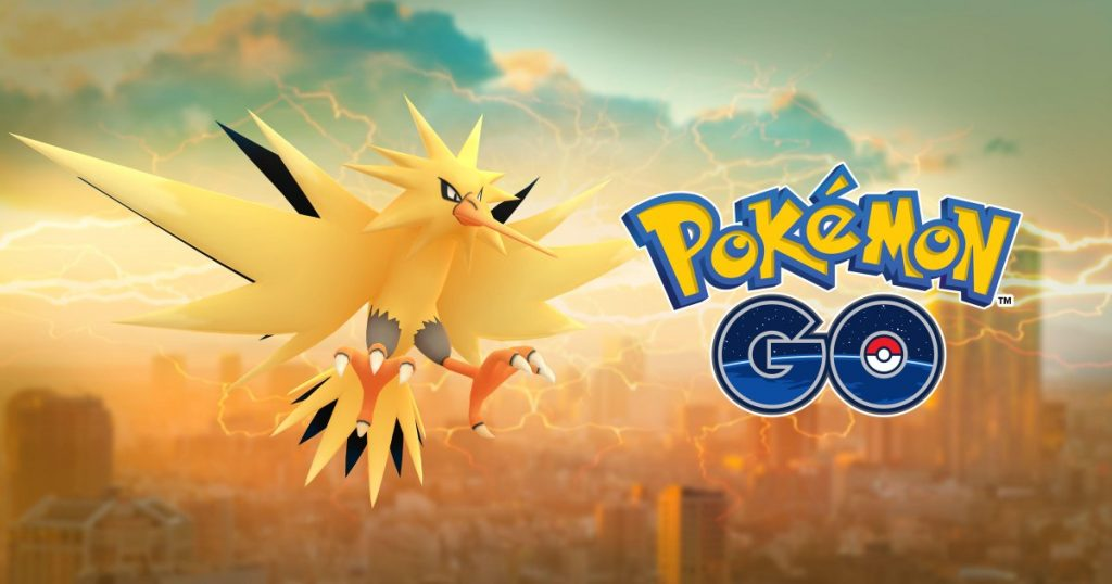 Pokemon GO New Legendary Bird Zapdos is Now Available