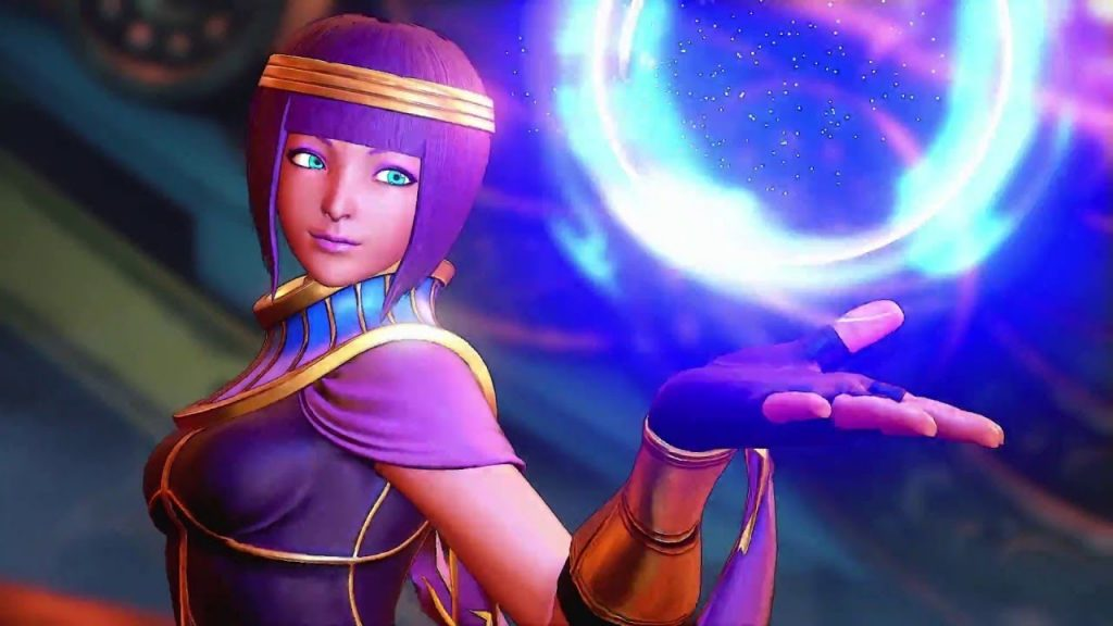 Street Fighter V Menat New DLC Character Reveal Trailer Released