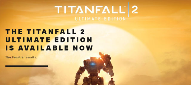 Titanfall 2 Ultimate Edition Live Standard One Free With EA Origin Access