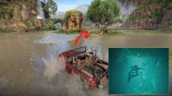 Uncharted Lost Legacy Underwater Token Location
