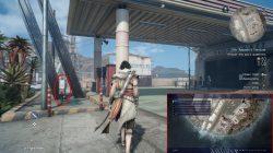 ffxv assassin flag gas station