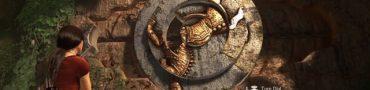 uncharted lost legacy horse emblem puzzle