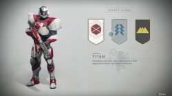 Character Customization Destiny 2 Class Select