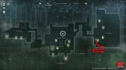 Destiny 2 Dance party chest location walkthrough map