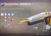 Destiny 2 Inaugural Address Weapon from Leviathan Raid