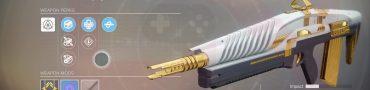 Destiny 2 Inaugural Address Weapon from Leviathan Raid