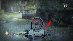 Destiny 2 Outskirts Hidden Golden Chest Location