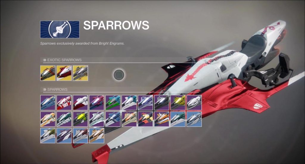 Destiny 2 Sparrows - How to Get Them