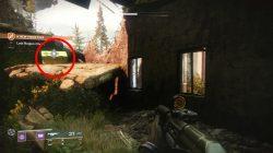 First Secret Region chest in EDZ Trostland Destiny 2