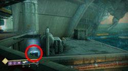 Second Destiny 2 Titan Cayde Stash Loot Chest Location