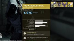 Wardcliff Coil Xur September 22nd Titan Location
