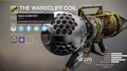 September 22nd Xur Location Where to Find Wardcliff Coil