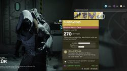Xur Where to Find September 22nd Sunbracers