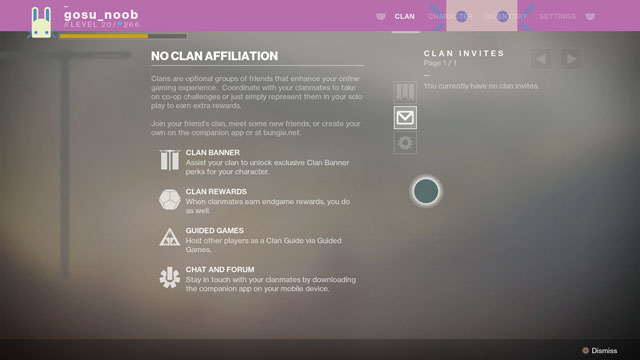 destiny 2 can't get modify clan banner progression problems