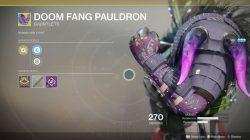 destiny 2 doom fang pauldron