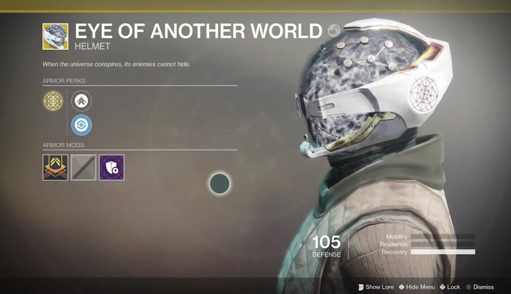 destiny 2 eye of another world exotic helmet