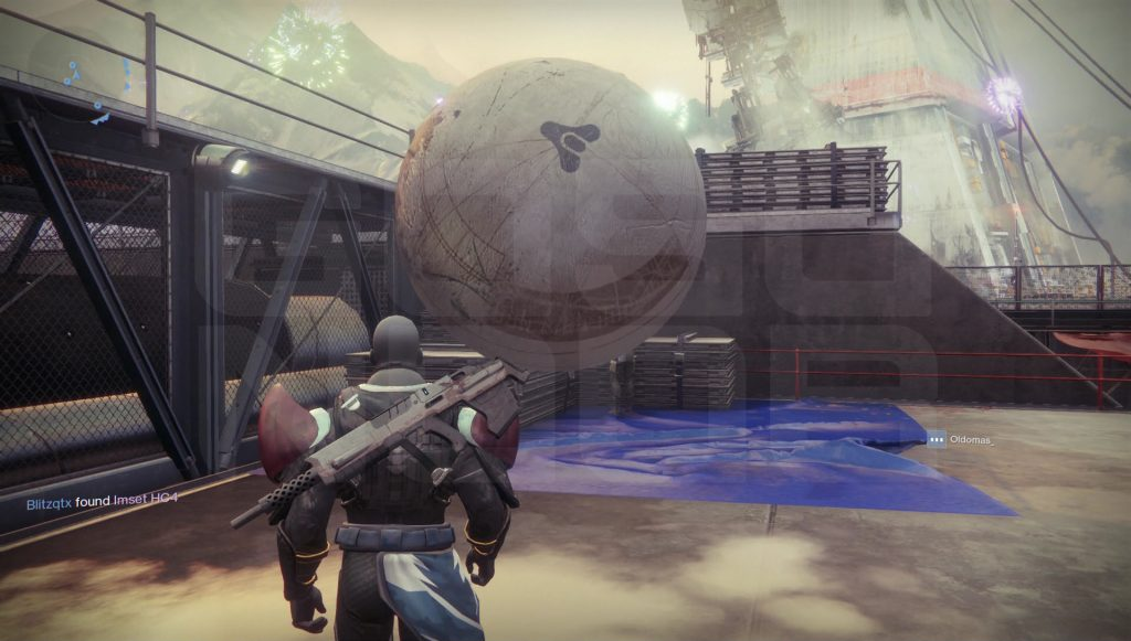 destiny 2 giant ball easter egg