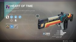 destiny 2 heart of time