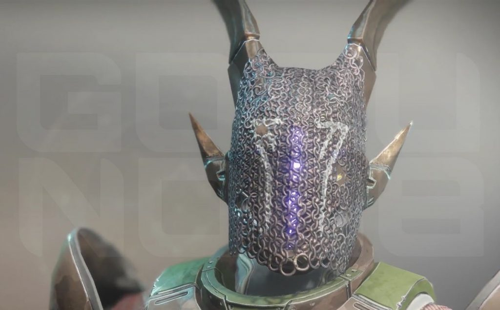 destiny 2 mask of the quiet one exotic helmet
