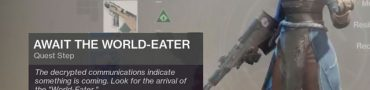 destiny 2 on the comms triggers world eater mystery