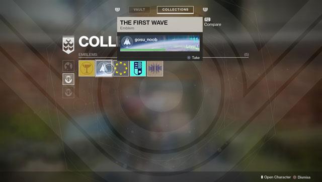 destiny 2 where to find beta veteran preorder bonus items