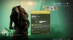 Destiny 2 Xur Doom Fang Pauldron