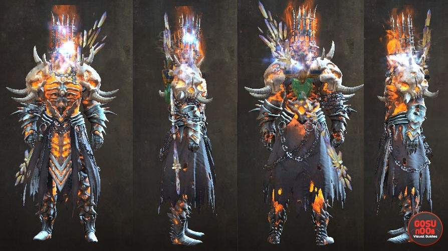 gw2 path of fire forged outfit