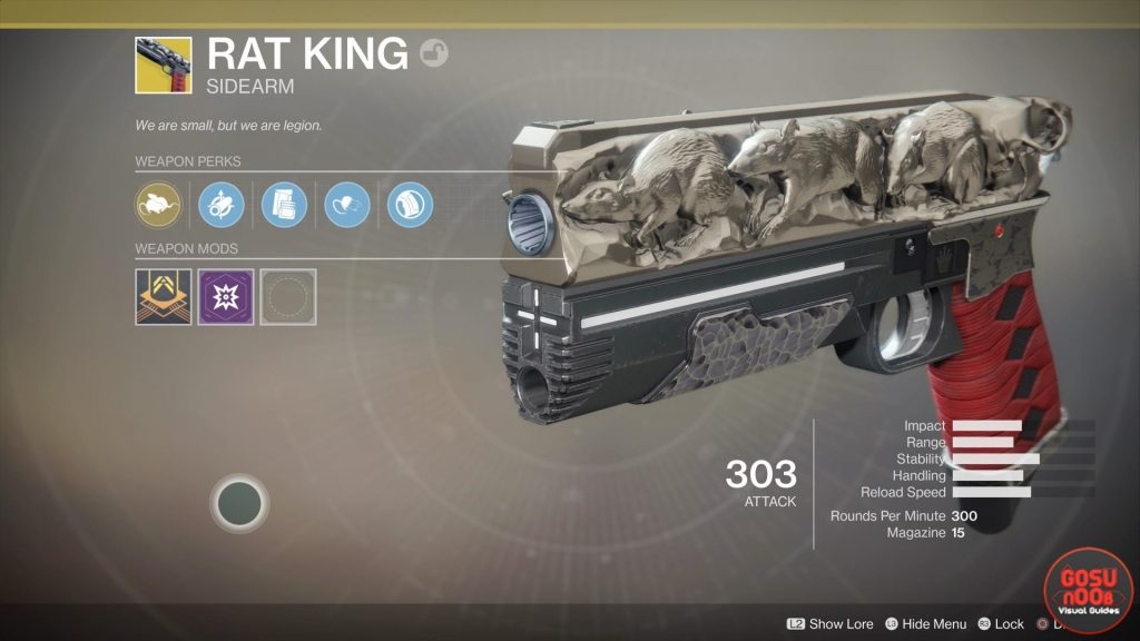 rat king destiny 2 exotic how to get guide
