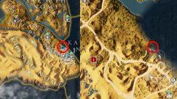 AC Origins Dead End Riddle Solution Loot Spot
