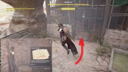 AC Origins Investigate Khaliset's Lair to Uncover Her Whereabouts