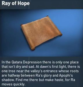 AC Origins Ray of Hope Papyrus Puzzle Solution Guide