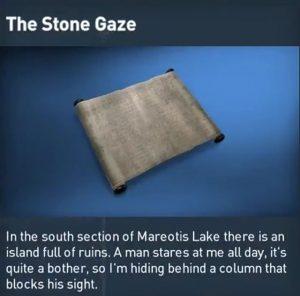 AC Origins Stone Gaze Puzzle Solution