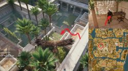 AC Origins Temple of Ptah Find Papyrus Puzzle Location