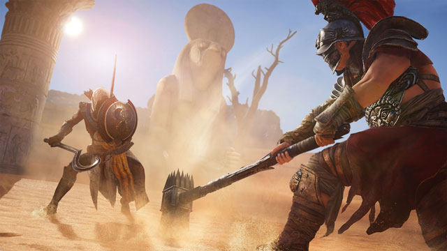 Assassin's Creed Origins Preloads Available, Day One Update Size